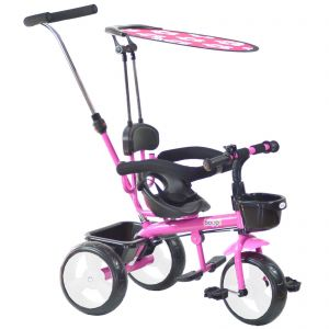 Pink boppi 4-in-1 Baby Tricycle Stroller bopster